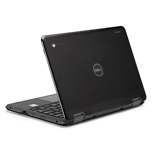mCover Hard Shell Case for 2017 11.6' Dell Chromebook 11 3189/5190 series 2-in-1 Laptop (NOT compatible with 3180 series) (Black)