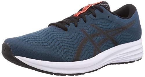ASICS Patriot 12, Running Shoe Mens, Magnetic Blue/Black, 46.5 EU