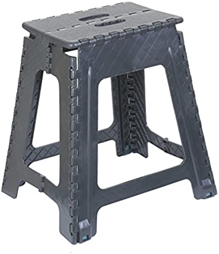 Superior Performance Klapptritt Hocker 45,7  (Grau) 18 inch Grau