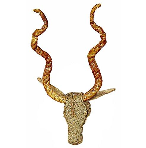 Cabeza de carnero de esparto - BicocaWeb