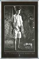 ポスター ステューシー ステューシー20th Anniversary プリント05 額装品 アルミ製ベーシックフレーム(シルバー)