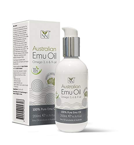 Extra Large Emu Oil | 100% Pure Australian Emu Oil - 6.76 Fl.oz