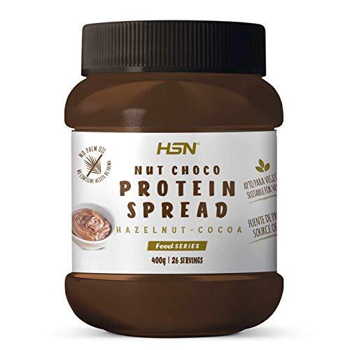 Crema Hiperproteica de Cacao y Avellanas de HSN | NutChoco con Whey...