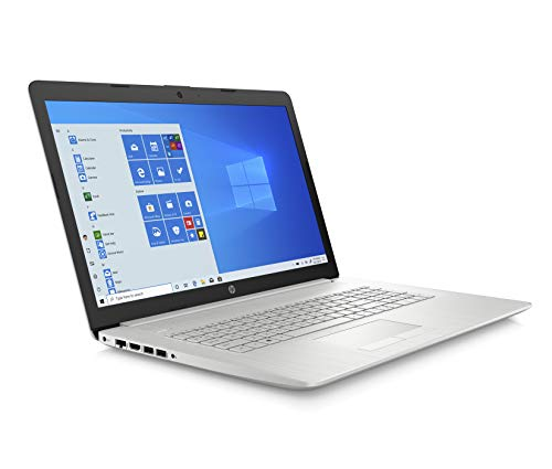 HP 17-by2021na 17.3 Inch HD+ Laptop, Intel Pentium Gold 6405U, 4 GB RAM, 1 TB HDD, Windows 10 Home - Silver