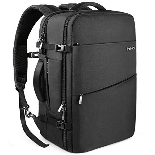 Inateck 30L Supergroßer Handgepäck Reiserucksack Laptop Rucksack für 15-15,6 Zoll Notebooks, Flug Genehmigt Rucksack Kabinenrucksack für Weekender