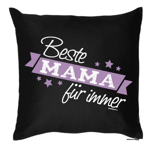 Draag-het bedrukte Moederdagsofakussen: beste mama voor altijd cadeau, decoratief kussen, bankkussen, verjaardag, Pasen, bank