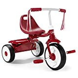 Radio Flyer- Juegos de Viaje y de bolsilloBicicletasRADIO FLYERTriciclo Plegable, Color Rojo (415A)
