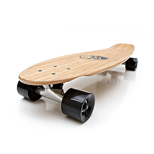 White Wave Longboard Bamboo Complete (Missile)