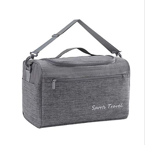 Make Up Bag Organizer große Kapazitäts-wasserdichte Lagerung WC-Beutel-Gepäck Boarding Bag Grau 36cm
