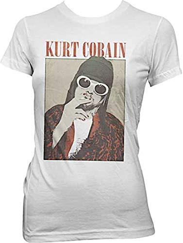 Kurt Cobain Smoking T Shirt