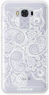 Capa para Zenfone 3 Max 5.5 Renda Branca