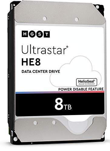 HGST HUH721008ALE600 interne Festplatte (8 TB, 8,9 cm (3,5 Zoll), 7.200 U/min, SATA, 6 Gbit/s, 256 MB Cache)