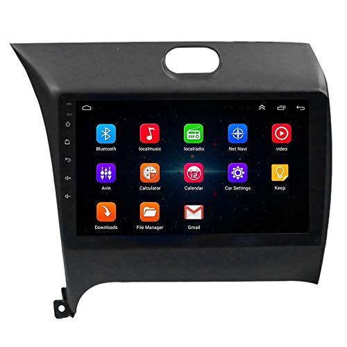 Youmine 9 Pulgadas 2 DIN Android 10.0 Car MP5 Player Radio EstéReo 2 + 16GB WiFi NavegacióN GPS para K3 2013-2015