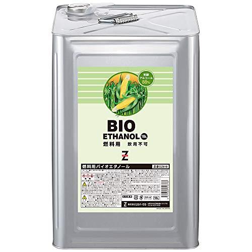 ヒロバ・ゼロ ECO FRIENDLY(バイオエタノール) 発酵アルコール88% GZ618 18L×3缶 GSE635 燃料用アルコール 燃料用エタノール