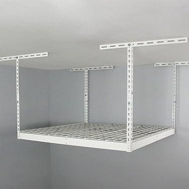 SafeRacks SR-4x4-W-18 Overhead Garage Storage Rack, 4' x 4'