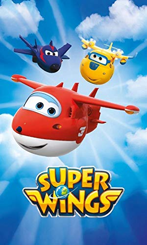 Badetuch SUPER WINGS