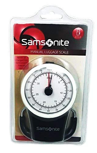 Samsonite - Báscula manual para equipaje, Negro, Una talla