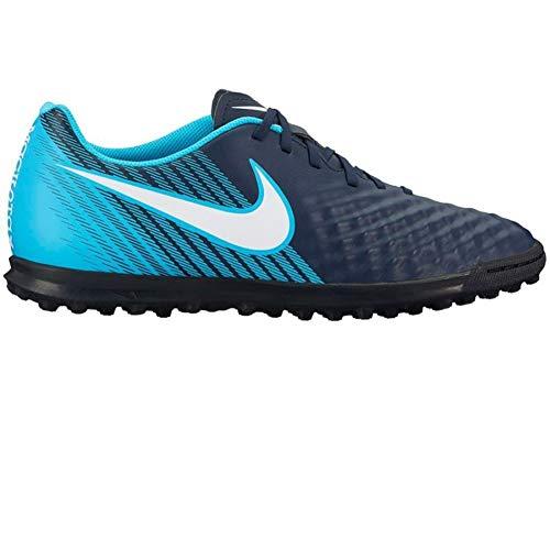 Nike Unisex-Erwachsene Magista X Ola II TF 844408 414 Sneaker, Mehrfarbig (Indigo 001), 41 EU