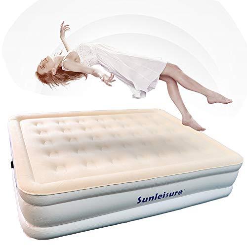 Kaibrite Cama de aire hinchable, colchón hinchable, 220 V, 50 Hz, colchón...