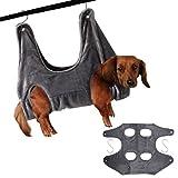 Dheera Pet Hammock Dog Cat Grooming Hammock Restraint Bags Convenient for Bathing Washing Bathing Nail Trimming