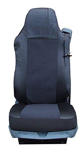 2 x stoelhoezen voor vrachtwagen, precies passende kunstlederen stof, nieuw