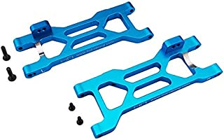 Hot Racing ECT5606 Blue Aluminum Rear Suspension Arms - ECX 2wd