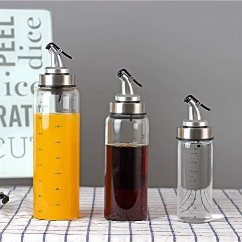 Botella de pulverización de aceite de oliva con pulverizador de vinagre, dispensador de aceite de cocina, botella de condimento