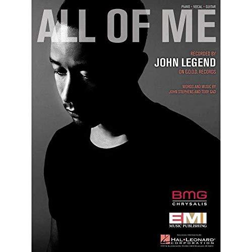 John Legend: All Of Me (PVG). Voor piano, zang & gitaar