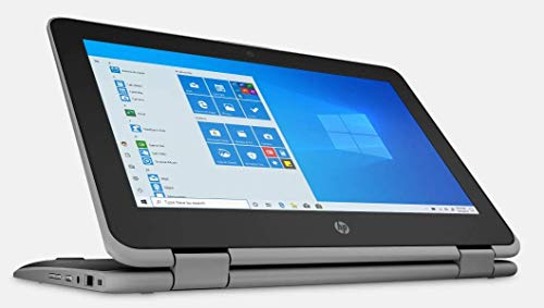 HP ProBook x360 G3 Convertible Flagship 11.6' HD Touchscreen Laptop | Intel Pentium Silver N5000 | 8GB RAM | 128GB SSD | Intel UHD Graphics 605 | HDMI | Windows 10 | with Woov Accessory Bundle