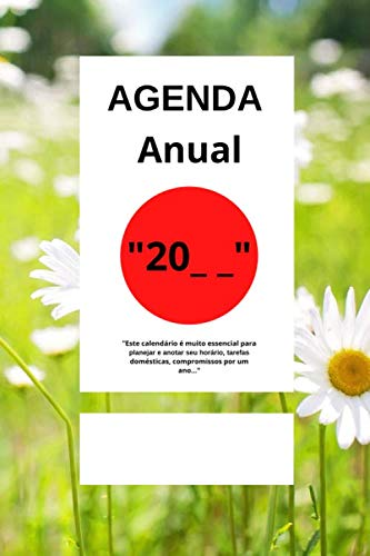 Agenda anual: Este diário anual é muito essencial para pla