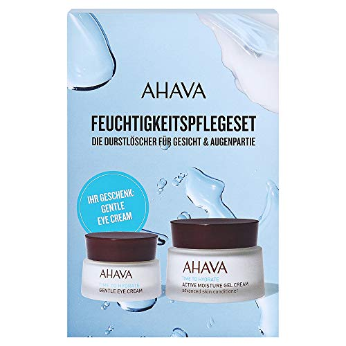 AHAVA Time To Hydrate Geschenkset (Gelcreme,50ml+Augencreme,15ml)