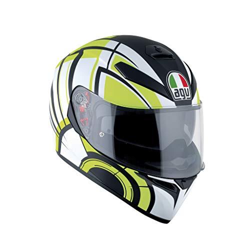 AGV Casco Moto K-3SV E2205Multi plk, Avior Matt White/Lime, XS