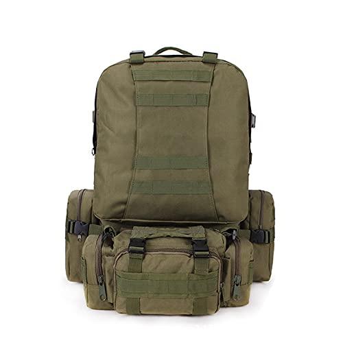 CNBPLS Tactical Army Zaini Zaino, Impermeabile Mimetico Zaino Tattico, Per Arrampicata All'aperto,8,One Size