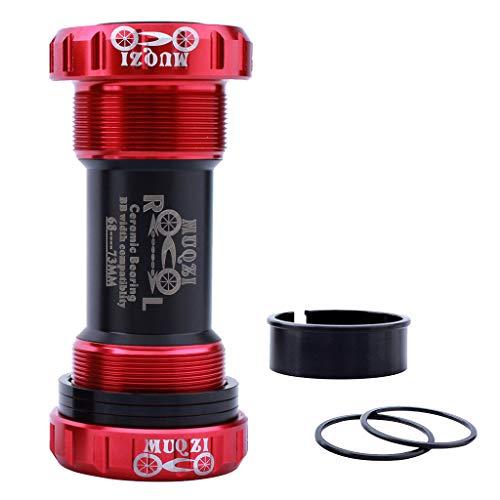Soporte de Pedalier de Bicicletas Rodamiento Sellado de Cerámica - Rojo, BB90-92