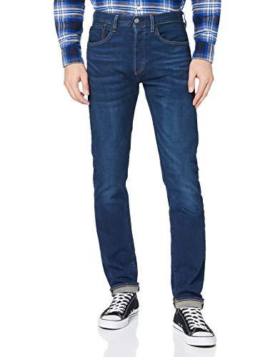 Levi's 501 Slim Taper Jeans, Boared, 38 32 para Hombre