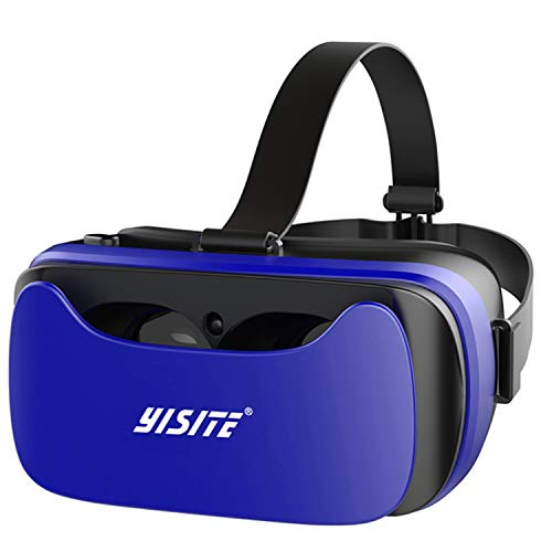 Find Discount FuLov VR Headset Glasses 110°FOV Eye Protected Blu-ray Goggles for Smartphone Virtual...