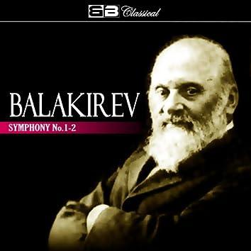 Balakirev Symphony No. 1-2