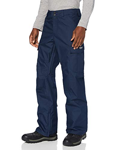 Burton Cargo Pantalon de Snowboard, Hombre, Dress Blue, M