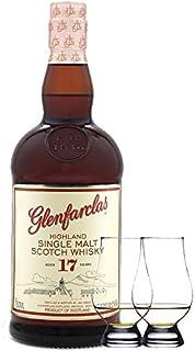 Glenfarclas 17 Jahre Single Malt Whisky 0,7 Liter 2 Glencairn Gläser