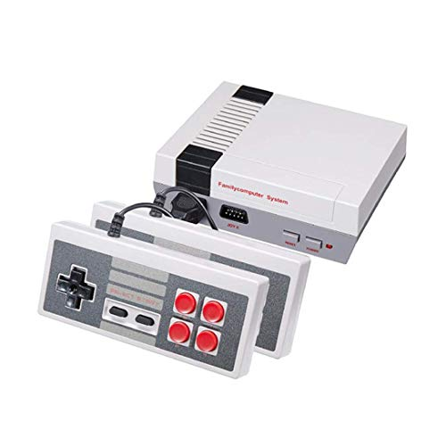 Console de jeu Mini TV familiale classique de 620 jeux Retro FC/NES Console portable Console rétro avec système de jeu et contrôleur double, vous apportera de beaux souvenirs d'enfance