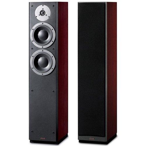 'Dynaudio DM 3/7schwarz, Holz Lautsprecher–Lautsprecher (Universal, XLR, Boden, integriert, 17cm (6,7), 2,8cm)