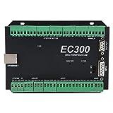 Controlador de movimiento Ethernet Mach3 de alta resistencia Dos relés DC 24V Digital Dream MPG 3-6 ejes 300kHz EC300 Sistema de control CNC para software Mach3(4 axis)