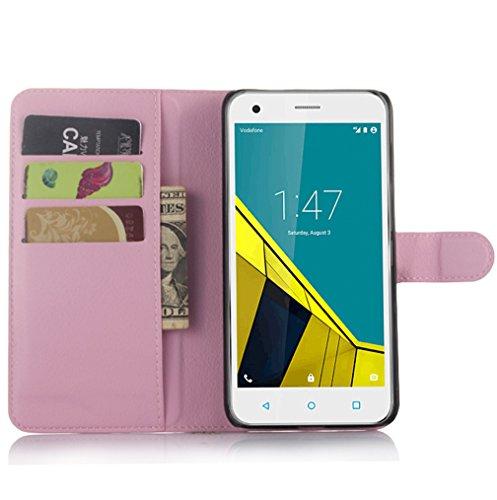 NEKOYA Vodafone Smart Ultra 6 Hülle,Vodafone Smart Ultra 6 Lederhülle,Handyhülle im Brieftasche-Stil für Vodafone Smart Ultra 6.Schutzhülle mit [Standfunktion] [Kartenfach] [Magnetverschluss]
