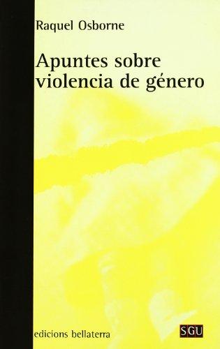 Apuntes sobre la violencia de genero (General Universitaria)