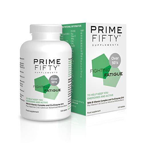 PRIME FIFTY Fighting Fatigue Tablets | 120-Cou