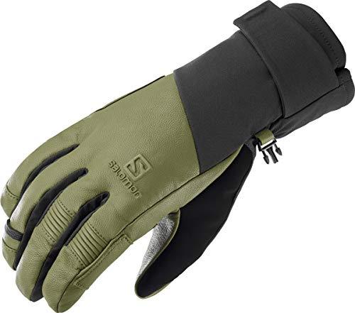Salomon Men's Standard Propeller Plus Glove, BLACK/MARTINI OLIVE, Large