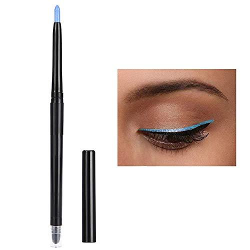 Fard À Paupières Crayon À Paupières Surligneur Crayon Paillettes Étanche Outil De Maquillage Pour Les Yeux(bleu)