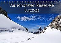 Die schoensten Reiseziele Europas (Tischkalender 2022 DIN A5 quer): Eine Reise zu den schoensten Reiseziele Europas. (Monatskalender, 14 Seiten )