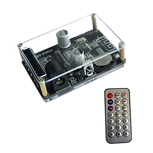 Anjuley XY-P40W Karte, digital, Bluetooth, Empfänger, Stereo, kabellos, mit Fernbedienung, 30/40 W, 12/24 V
