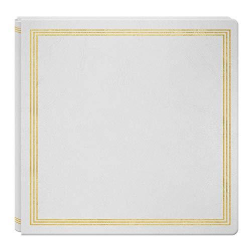 Large Magnetic Page X-Pando Photo Album, White